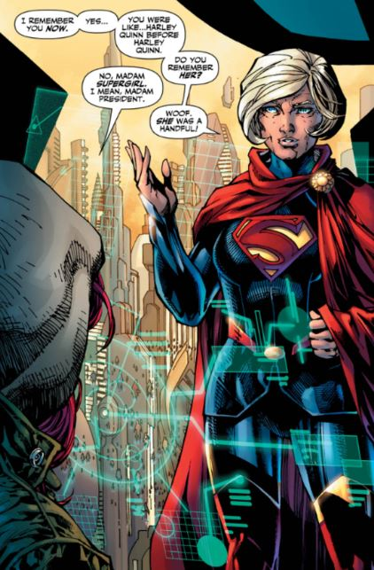 DC Comics made Super Girl the President of the United States