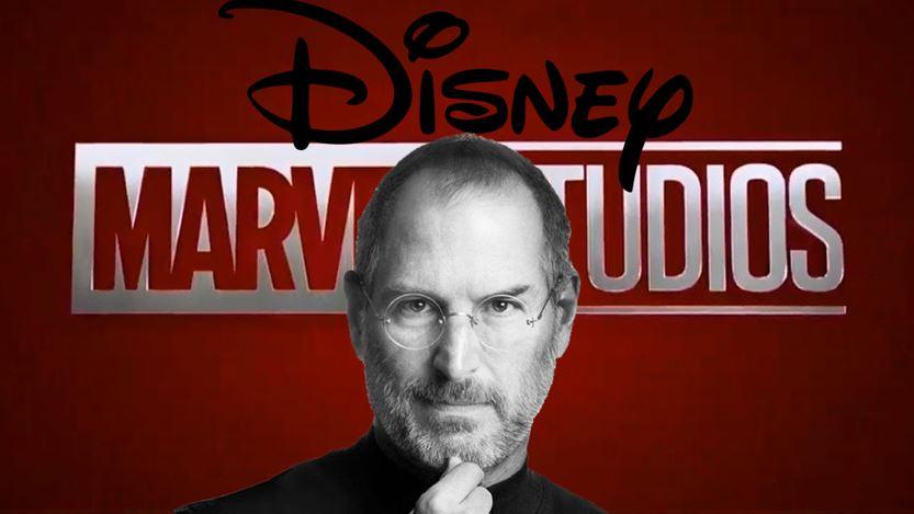Steve Jobs Led Disney to Buy Marvel Studios