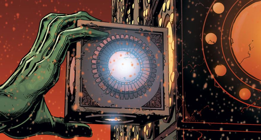 Infinity Stones Vs. Mother Box Cosmic Artefact