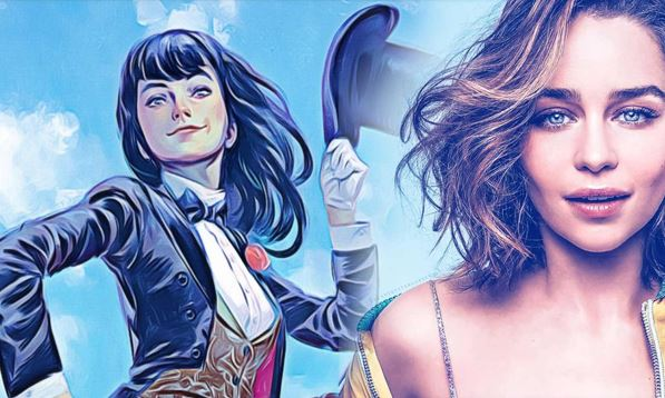 Eyeing Emilia Clarke to Play Zatanna in DCEU
