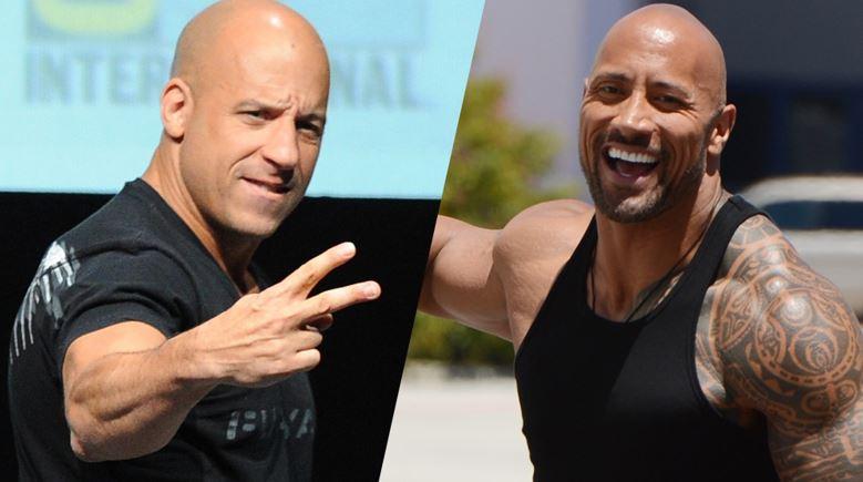 Fast & Furious Vin Diesel The Rock Resolve Feud Hobbs Return
