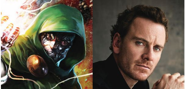 Michael Fassbender & Spectre Star Eyed to Play Doctor Doom
