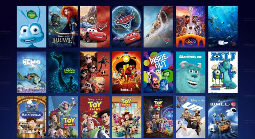 Movie & TV Series Available on Disney+ on Day 1