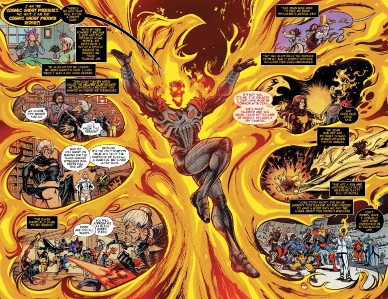 Powers and Abilities of Cosmic Ghost Rider