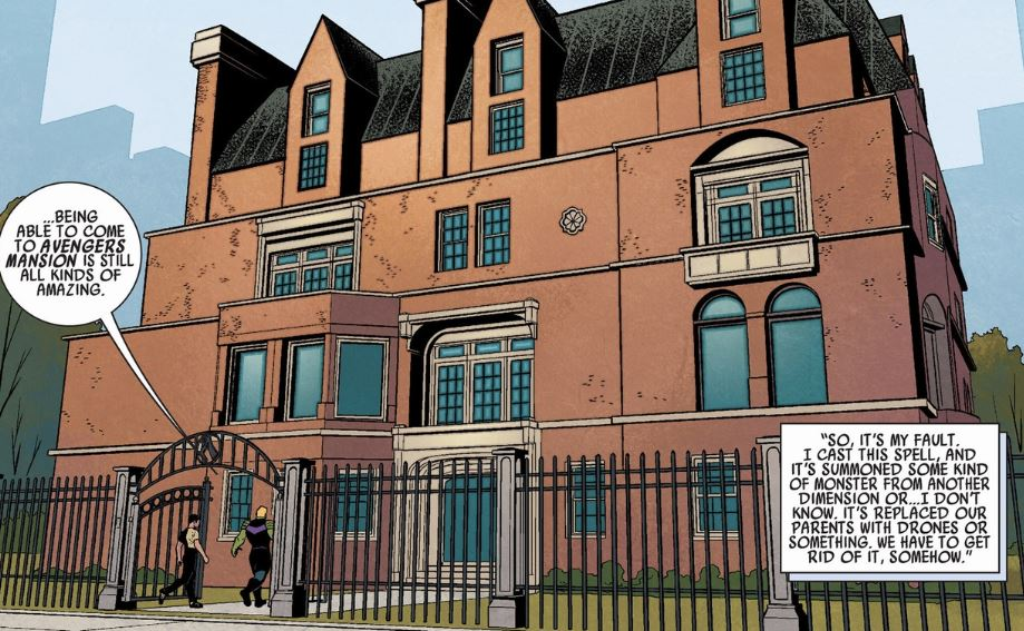 Secret Superhero Headquarters in Marvel Comics