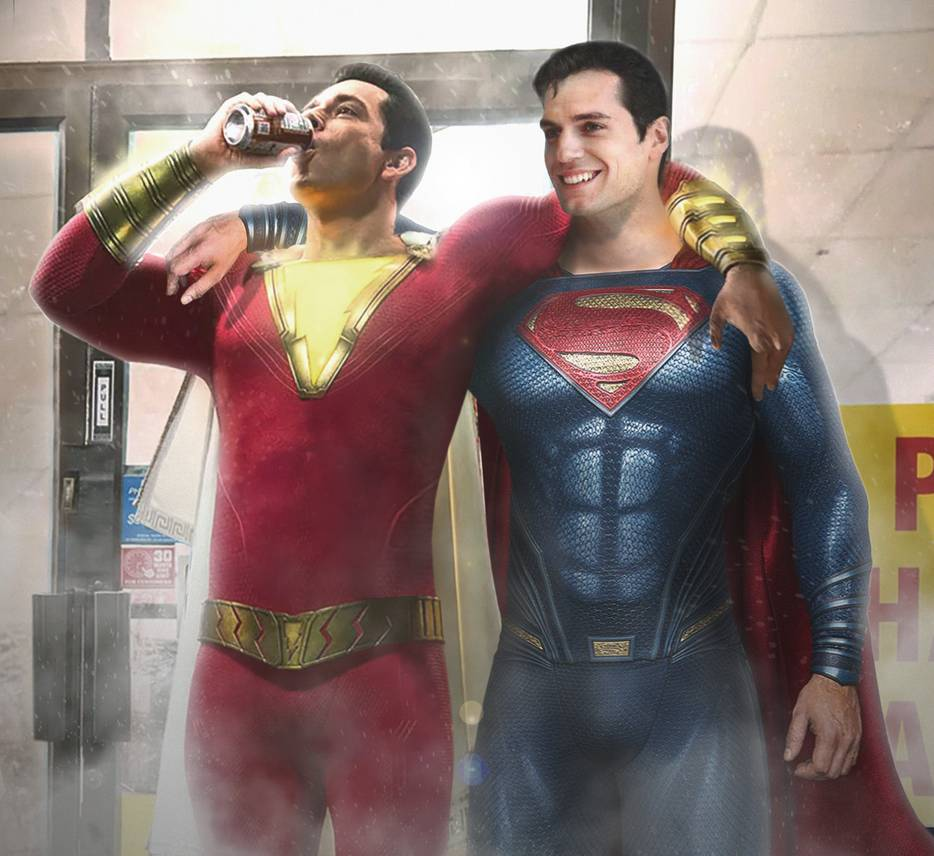 Shazam! – Superman Cameo