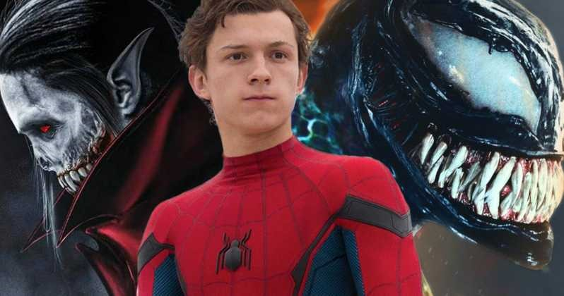 Photo of Sony Confirms Spider-Man Will Crossover With Venom & Morbius