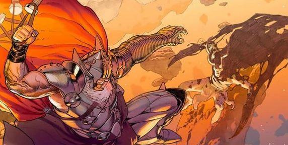 Superhero Fight King Thor vs Loki