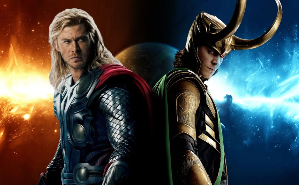 Superhero Fight King Thor vs Loki