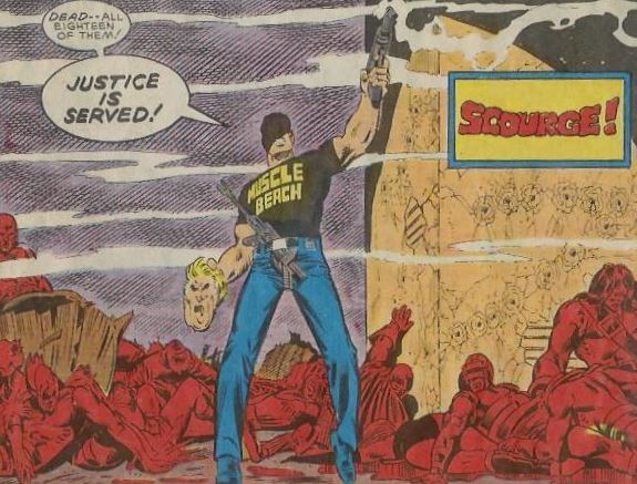 Superheroes Brutally Murdered Super Villains