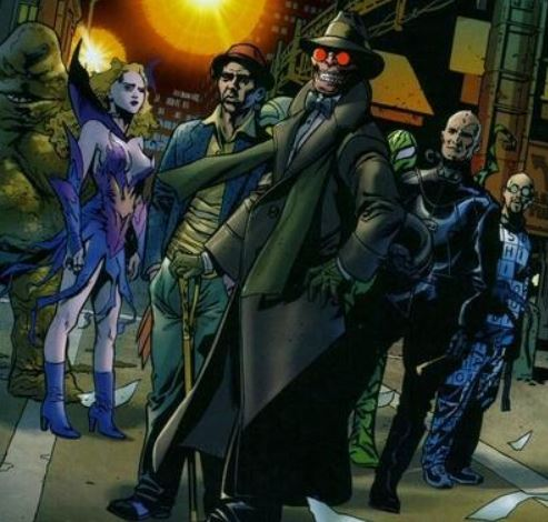 Black Ops Team in The Comic Books