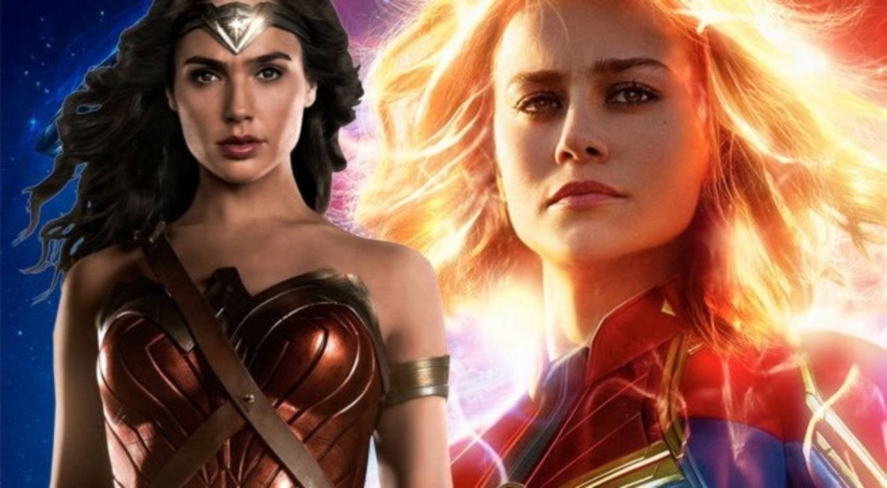 Photo of Brie Larson's Captain Marvel Gets Destroyed in a Poll Against Gal Gadot's Wonder Woman