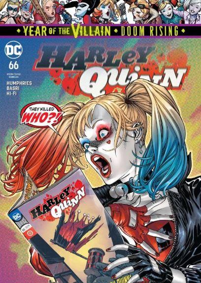 Harley Quinn Revealed She is Huge Fan of Hawkeye