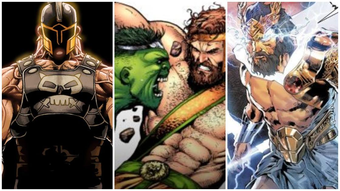 Strongest Marvel Greek Gods