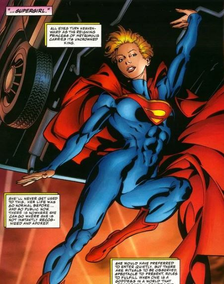 Super Girl is Stronger Than Superman