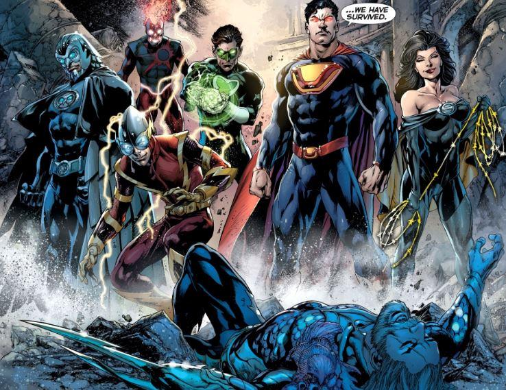 Unforgivable Acts by Justice League