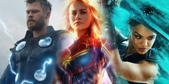 Captain Marvel vs. Thor