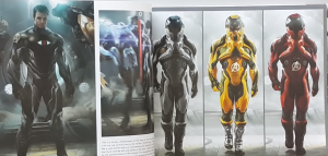 Avengers Endgame Alternate Time Travel Suit
