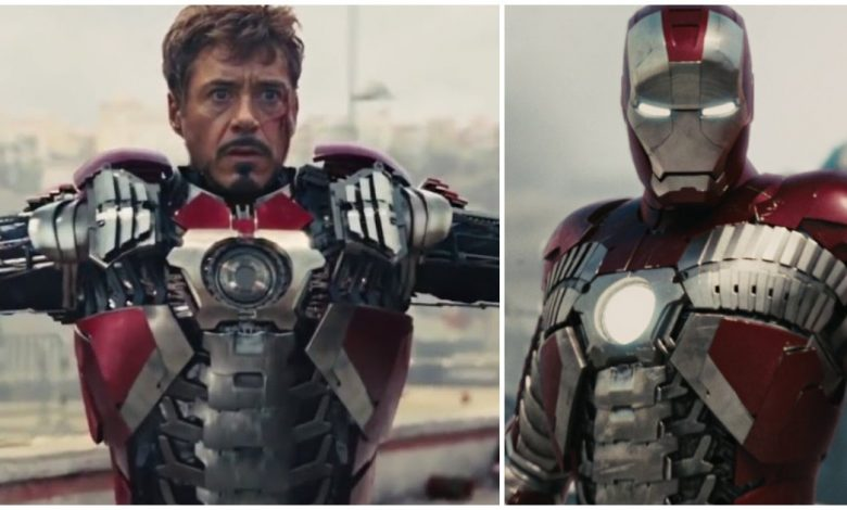Unused Armour Design From Iron Man 2