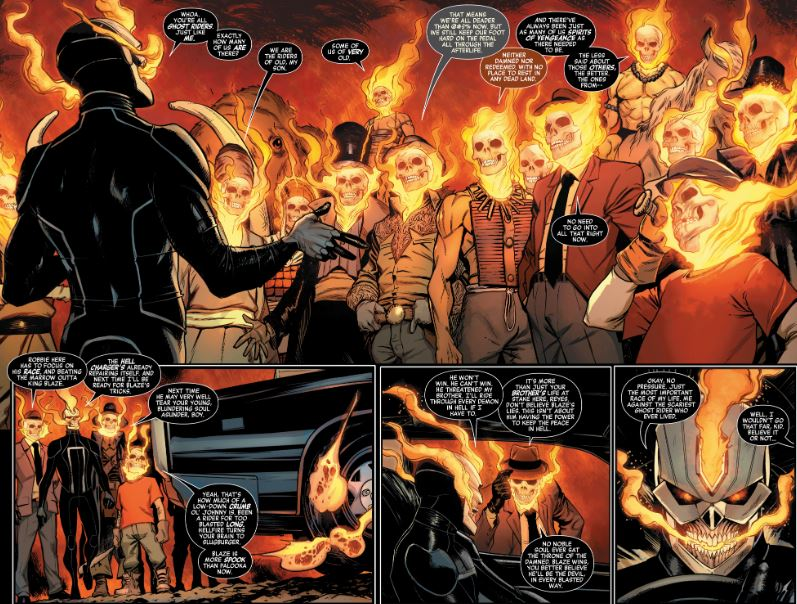 Ghost Rider as The New King of Hell