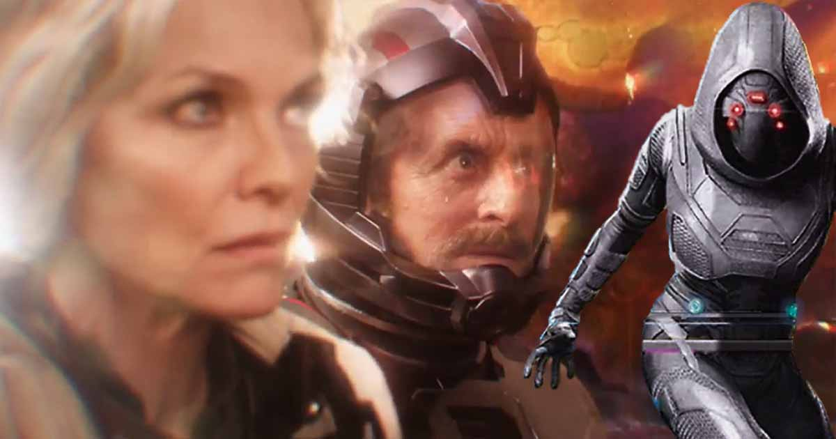 Photo of New Deleted Scene Shows How Hank Pym & Janet Were Involved in Creating Ghost