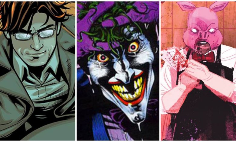 Serial Killers in DC Comics
