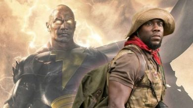 Photo of Kevin Hart Might Play a Role in Dwayne Johnson's Black Adam Movie