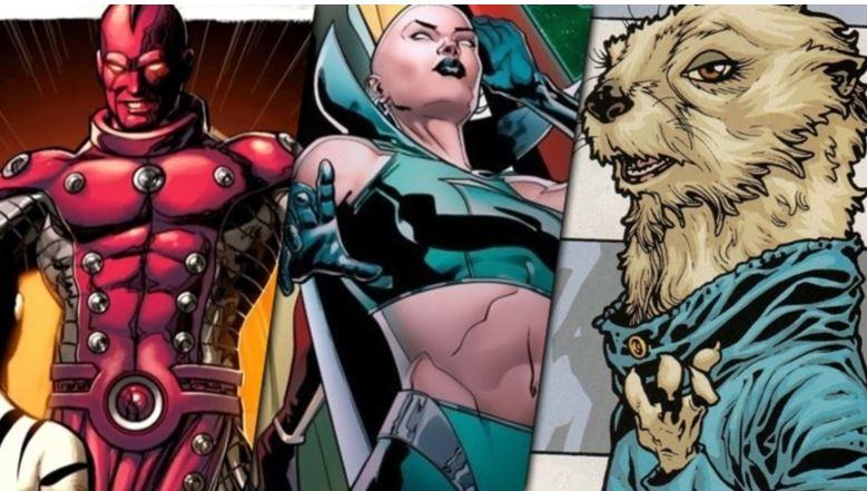 Adam Warlock in Guardians Vol. 3