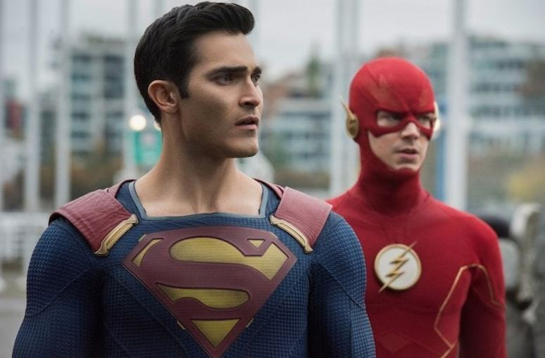 Photos of Crisis on Infinite Earths Crossover