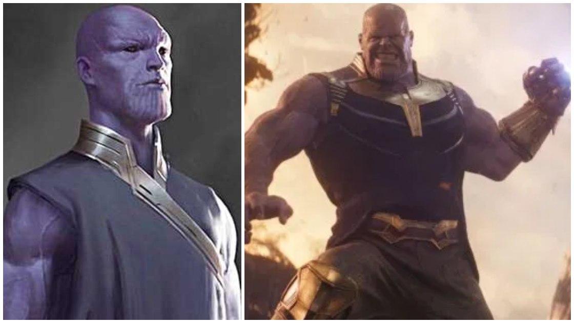 Infinity War Concept Shows Thanos