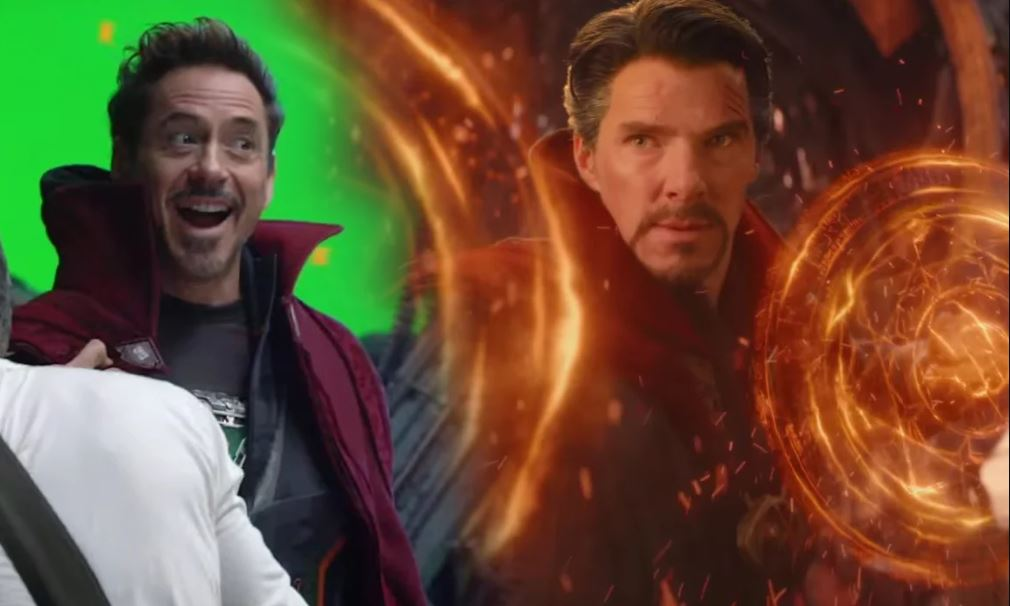 Photo of Infinity War – Unused Scene Shows Tony Stark & Stephen Strange Switching Suits