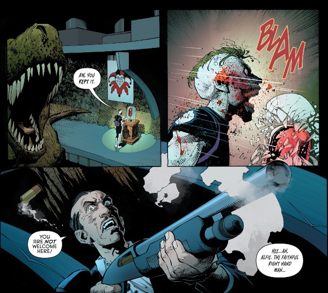 the Batman Theory Alfred Involved in Fights