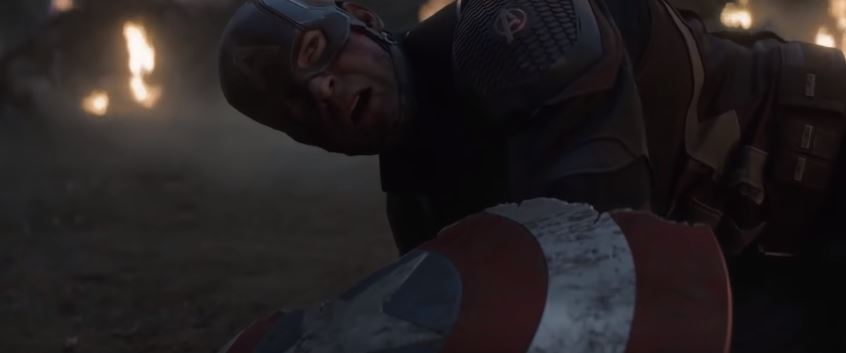 Thanos Broke Cap's Shield With Hands
