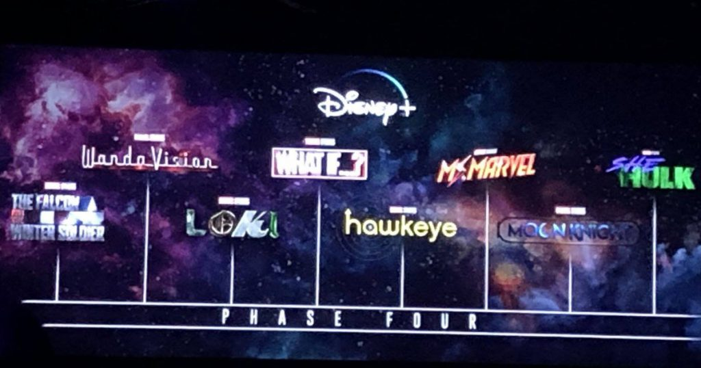 2022 Disney+ Shows in Phase 4 But 2022 MCU Films in Phase 5