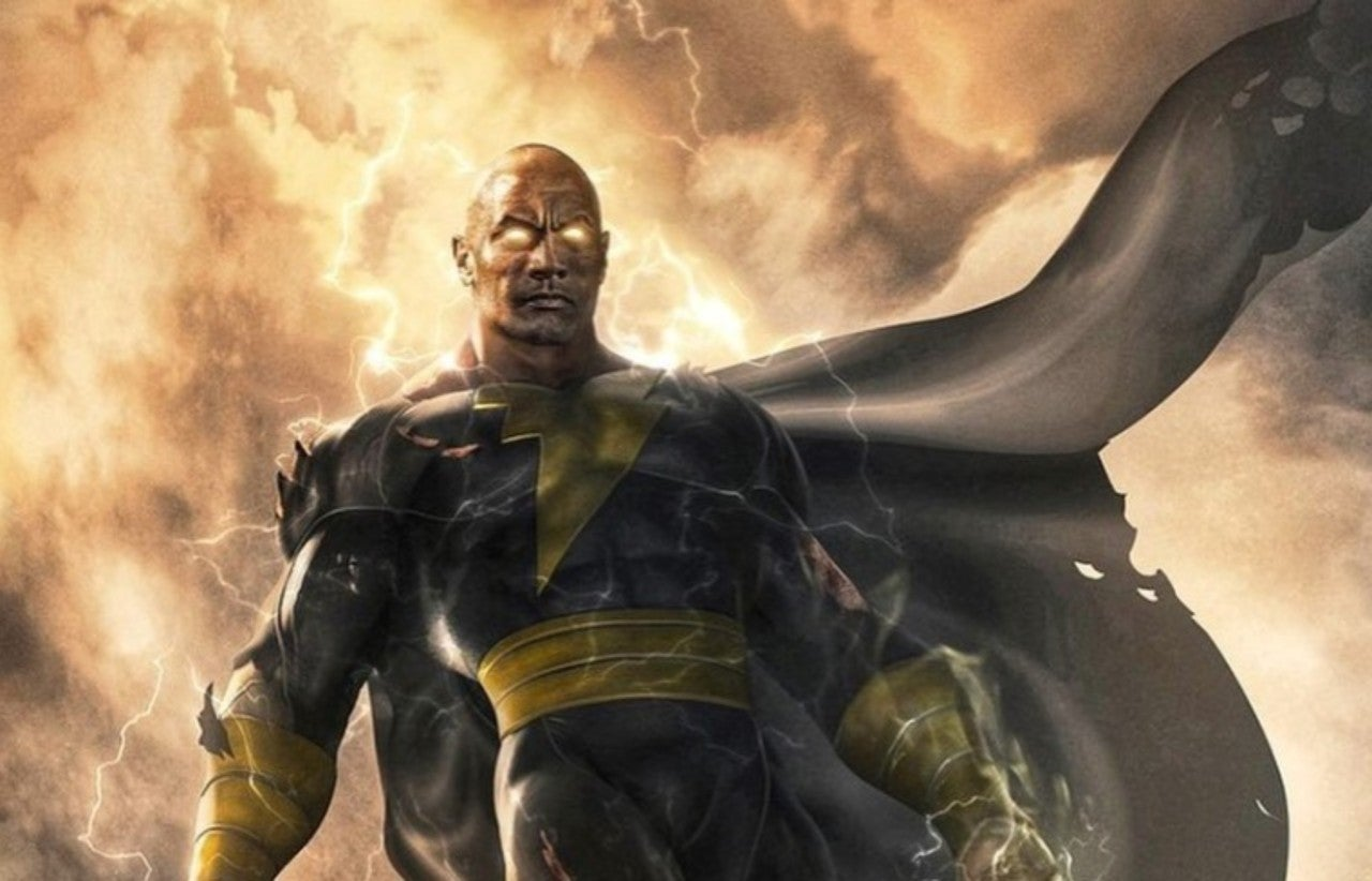 Photo of Dwayne Johnson Reveals His Black Adam Movie Poster & Release Date
