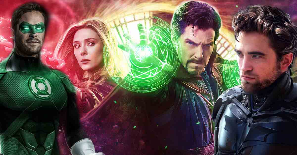 Marvel & DC Movies & TV Shows in 2021
