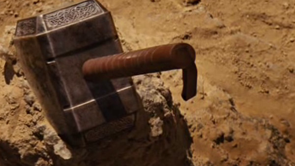 Thor Hammer teased in Iron Man 2