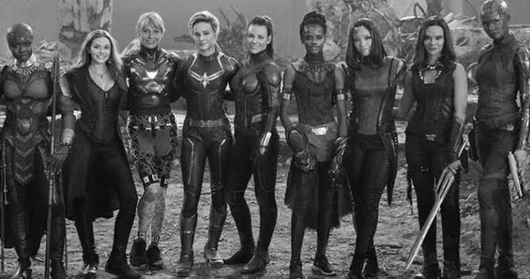 Endgame Original Female Team Up Scene