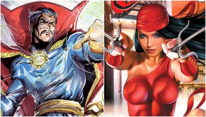 Doctor Strange And Elektra