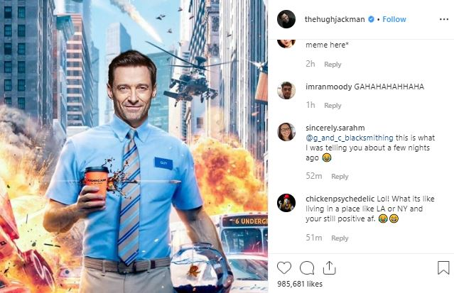 Hugh Jackman (Wolverine) Replies Upon Being Called a Fraud By Ryan Reynolds