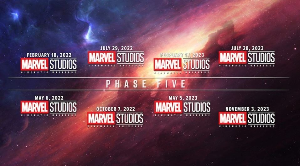 Marvel Studios Reveal Phase 5 Slate