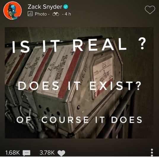 Justice League Snydercut Exists