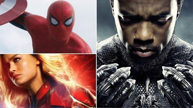 Spider-Man & Black Panther in Captain Marvel 2