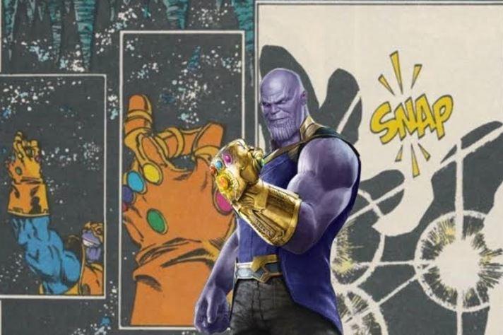 Arrogance of Thanos