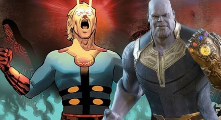 Thanos appear in Eternals