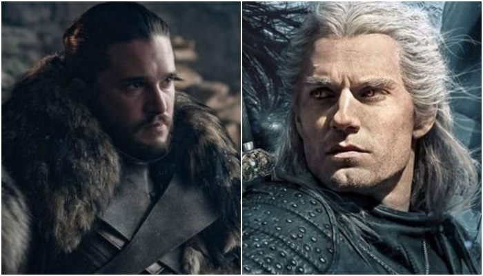 The Witcher Top Game of Thrones