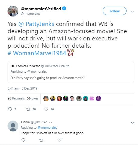 Wonder Woman Spin-Off Movie Based on Amazons