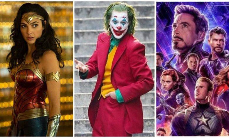 Greatest Superhero Movies of The Decade