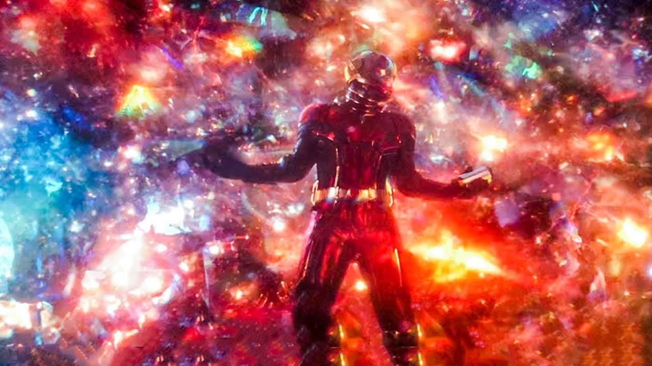 ant man got stranded in quantum realm