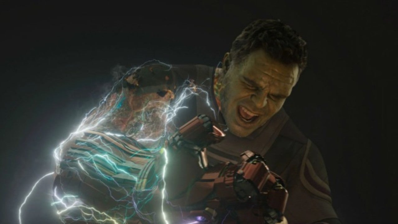 Hulk lost his arm in Endgame